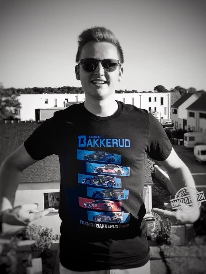 Andreas Bakkerud French Bakkerud Fans Shirt