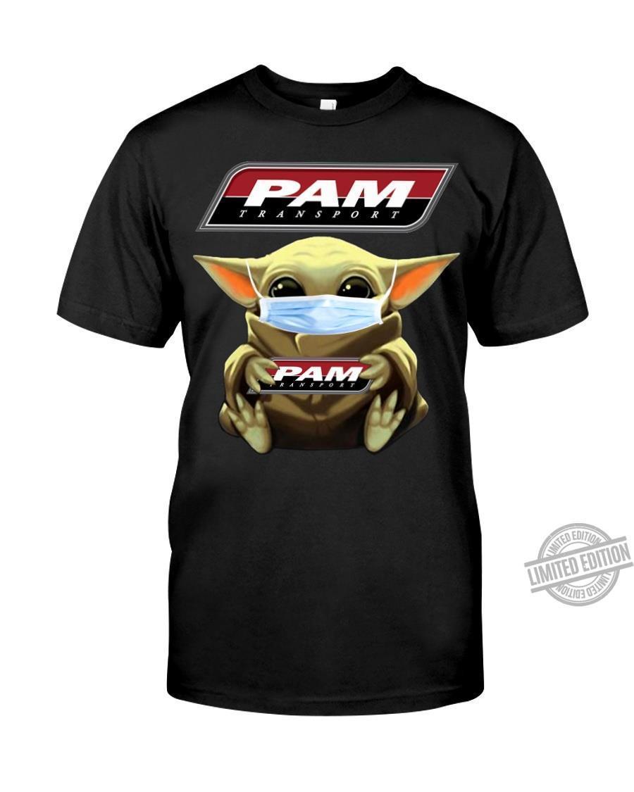 Baby Yoda And Pam Transport Shirt