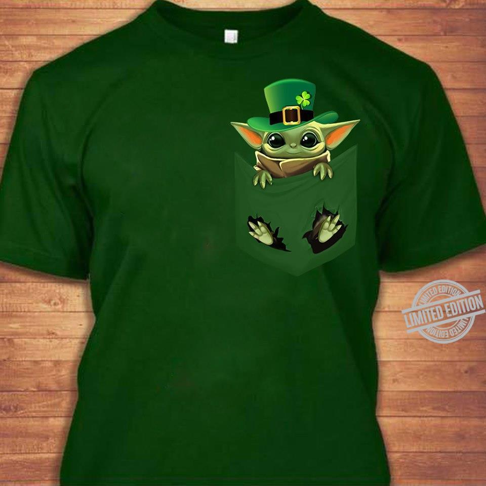 Baby Yoda In A Pocket Shirt