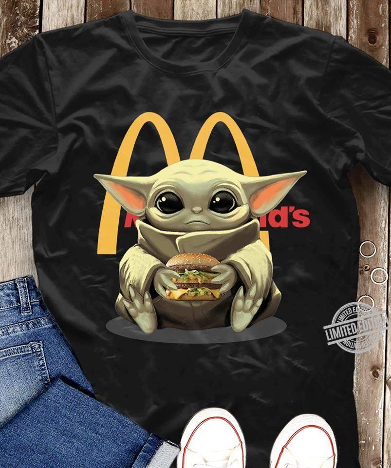 Baby Yoda Mc Donald's Shirt