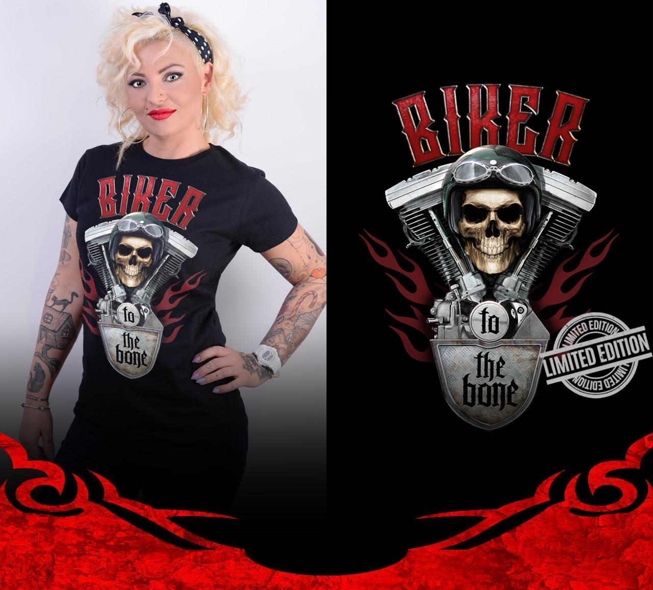 Biker To The Bone Shirt