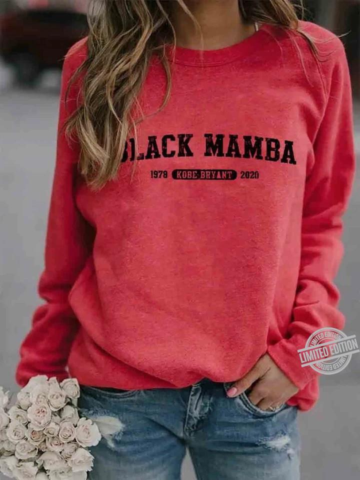 Black Mamba 1987 Kobe Bryant 2020 Shirt