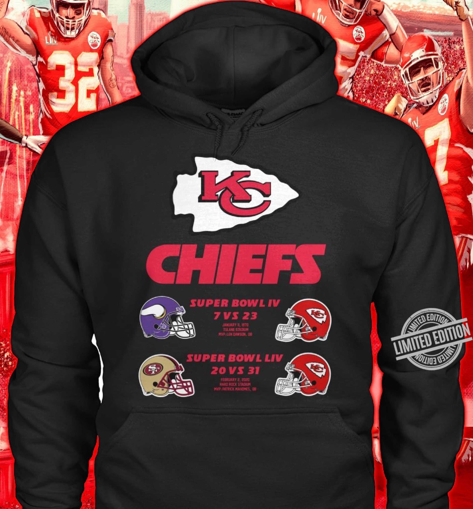 Chiefs Super Bowl IV Shirt