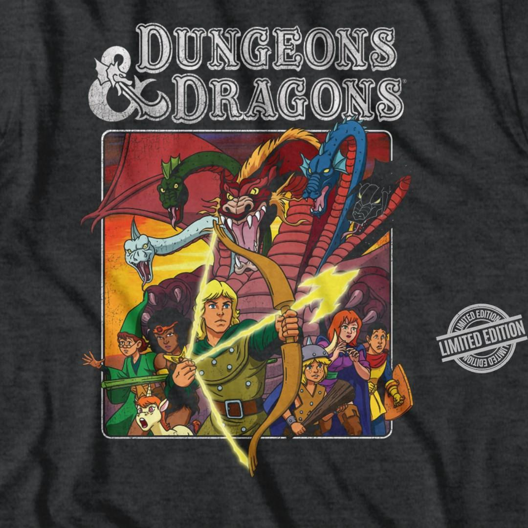 Dungeons & Dradons Shirt